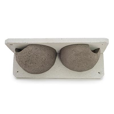 Woodstone® House Martin Nest - Double Entrance