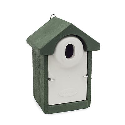 Woodstone® Seville Nest Box Oval (Green)
