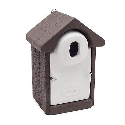 Woodstone® Seville Nest Box Oval (Brown)