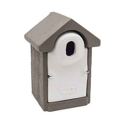 Woodstone® Seville Nest Box Oval (Grey)